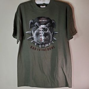 Harley Davidson Bad to the Bone tee NEW  Sz M